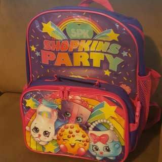 Shopkins backpack