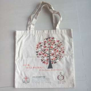 Brand New Queenstown Chinese Methodist Church Cotton Tote Bag