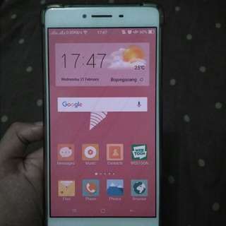 SALE Oppo R7s Rose Gold nego