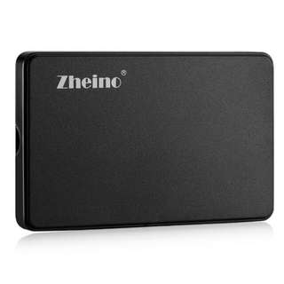 Zheino 2.5 Inch USB 2.0 44PIN IDE/PATA Hard Drive External Enclosure Case With Cable
