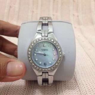 Jam fossil blue authentic reprice!!!