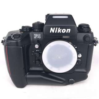 Nikon F4S Film SLR Body with MB-21 Motor Drive (Used) [FN: ***4426]