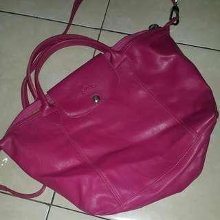 Tas Longchamp Pink