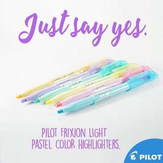 Frixion Pastel Highlighters w/ Cute Monthly Planners! ❤️ (Read instructions below ✨)
