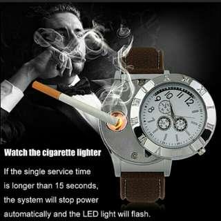 Usb rechargeable Cagrat lighter watch
