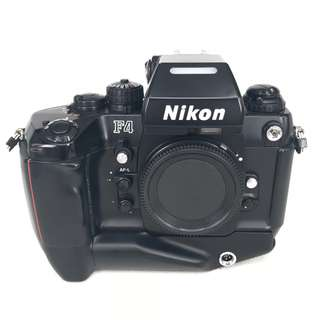 Nikon F4S Film SLR Body with MB-21 Motor Drive (Used) [FN: ***7582]