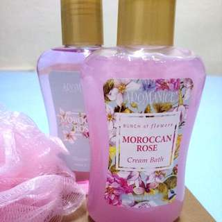 Moroccan Rose Cream Bath & Gel