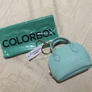 Colorbox alma wallet / pouch tosca