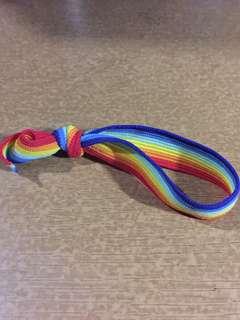 Adorable Rainbow Hair Tie