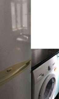 雪櫃、洗衣機
