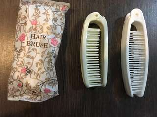 Plastic Collapsible Hair Brush