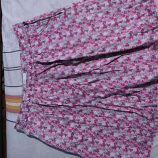 Floral skirt for 8-10yrs old