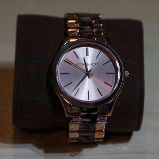 Michael Kors MK4301 Runway Rose Gold-tone Stainless Steel Ladies Watch