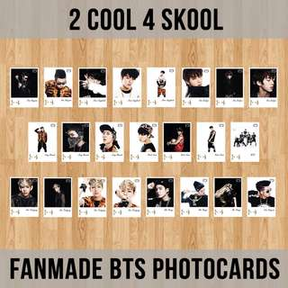 FANMADE BTS PHOTOCARD (2 COOL 4 SKOOL)