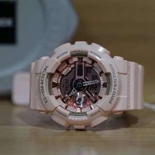 G-Shock S Series GMAS110MP-4A1, Rose Gold
