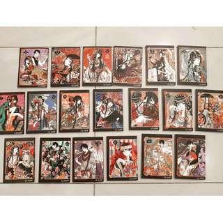 xxxHolic koleksi pribadi (BONUS Shirahime by CLAMP)