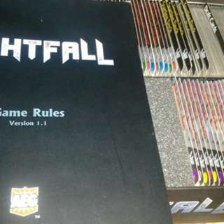 Pre-loved Nightfall Base game + Martial Law Expansion
