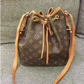 LV Petit Noé Monogram Canvas