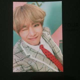 BTS TAEHYUNG 4TH MUSTER PHOTO BINDER PC