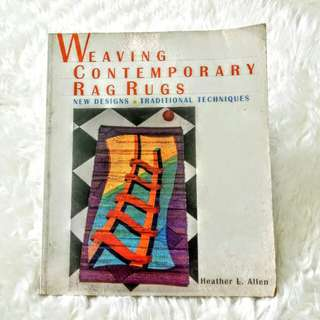 Buku Weaving Contemporary Rag Rugs