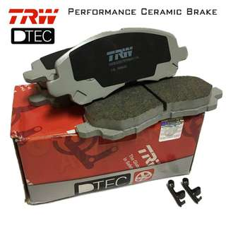 Mitsubishi Lancer (Front) TRW DTEC Performance Brake Pad