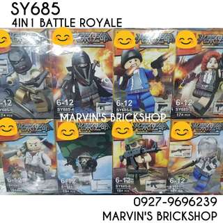 For Sale Battle Royale 8in1 Minifigures