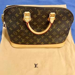 Preloved Auth Louis Vuitton Alma Monogram Bag