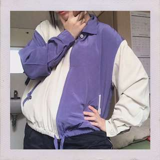 Two Tone Purple Jacket