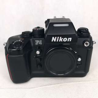 Nikon F4 Film SLR Body (Black) (Used) [FN: ***1134]