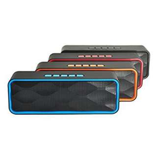 Music Megabass A2DP Portable Mini Wireless Stereo Speaker - Blue