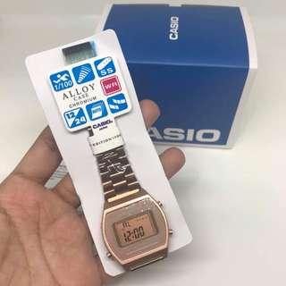 Casio Watch (Rose Gold)