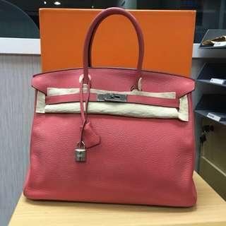 80% new Hermes Birkin 35cm N/Y CKA5