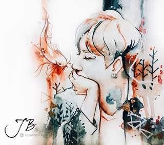 Got7 JB Art Print