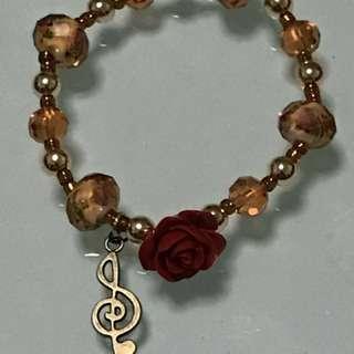Bracelet Charm with authentic stones