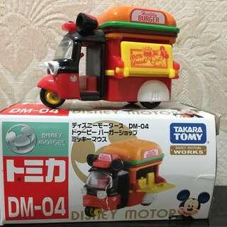 Tomy車仔:米奇漢堡車