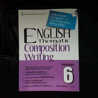 Primary 6 English Thematic Composition Writing Assessment Book