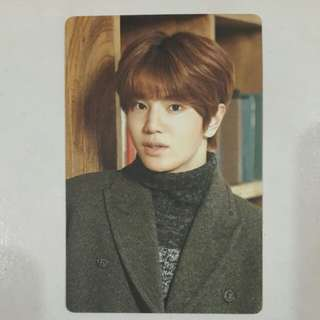 WTS/WTT INFINITE SUNGJONG REALITY OFFICIAL CALENDAR CARD
