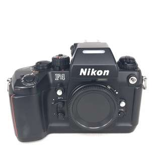 Nikon F4 Film SLR (Black) (Used) [FN: ***1069]