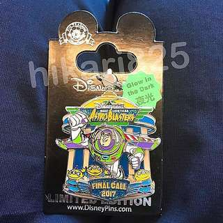 Disney pin LE800 巴斯 光年 Buzz Lightyear Final Call 紀念