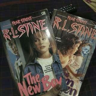 R.L Stine novel