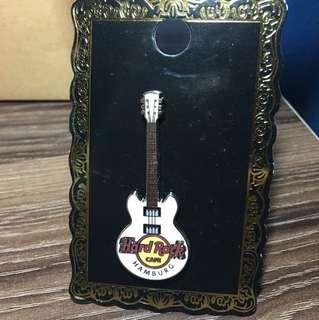 Hard Rock Cafe Guitar Pin from Hamburg