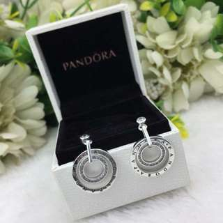 Pandora Earrings (925 Silver Inspired)