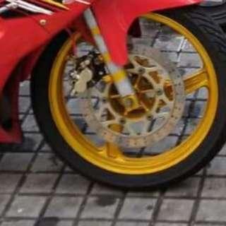 Kawasaki 150 rims