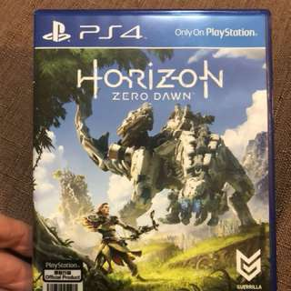 PS4 game 地平線 HORIZON ZERO DAWN 中英文版