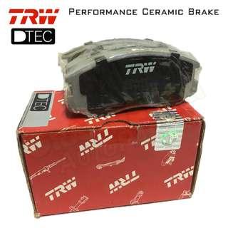 Proton Saga, Iswara, LMST (Front) TRW DTEC Performance Brake Pad