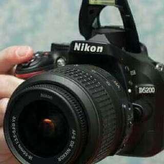Nikon D5200 24.1 MP CMOS Digital SLR Camera
