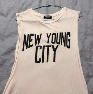 New Young City Tank top