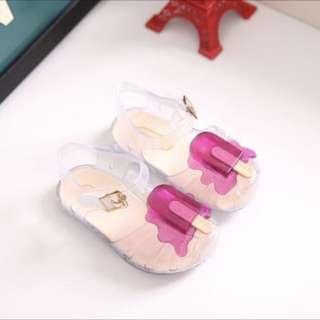 Mini Melissa ice cream sandals