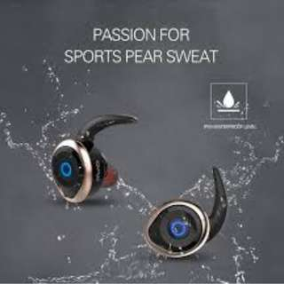 Wireless Earbuds IPX4 Water Proof Super Bass Awei T1 Headset Earpiece Earphone