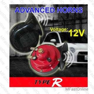 TYPE-R 004 12V 100dB Super Loud Twin BM Horn